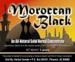 Moraccan Black Solid Smoke